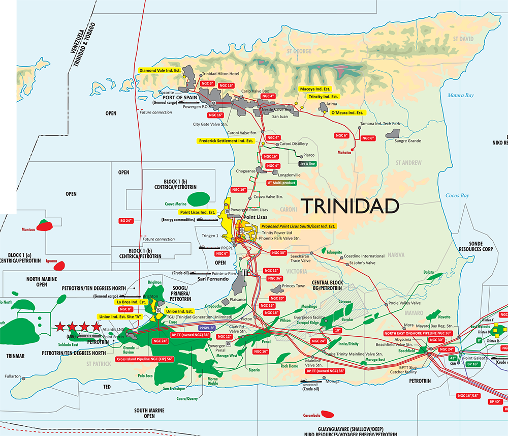 Where Can Natural Gas Be Found In Trinidad